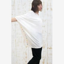 -Diagonal Blouse 100% Linen-21