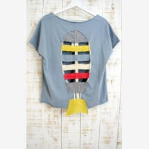 -Blouse Fish 100% organic cotton 100%-22