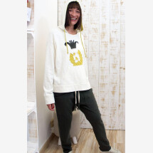 -Blouse Pineaple with Hood 100% Organic Cotton-23