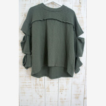 -Blouse Sliced Sleeves 100% Organic Cotton-22