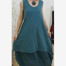 -100% ORGANIC COTTON DRESS WITH POCKET-21