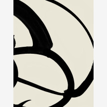 -Mono Abstract 2 by Dan Hobday Premium Poster-21