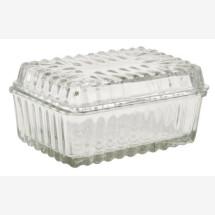 -Glass butter jar-21