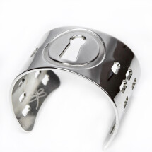 -SILVER PLATED CUFF-22