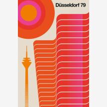 -Düsseldorf 79 by Bo Lundberg Premium Poster-21
