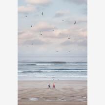 -Two of a Kind by AJ Schokora Premium Poster-21
