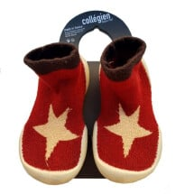 -Collegien cotton red / gold stars-21