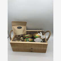 -Large Easter wooden box-21