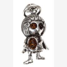 "-Silver pendant ""Angel""-21"