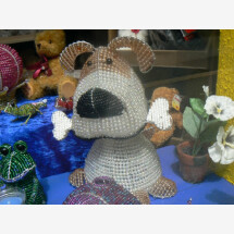 -Beads lamp dog-21