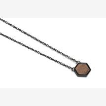 -BeWooden Apis Nox necklace hexagon-21