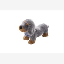 -Hund Zamperl aus Plüsch und Trachtenstoff-21