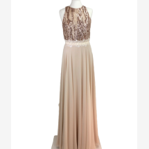 -Evening dress with lace-21