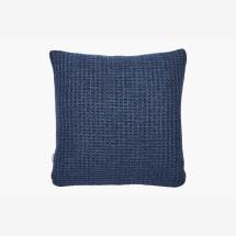 -Blue waffle pattern Alice pillow Hetti-21