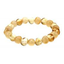 """-Amber bracelet """"Lemon""""-21"""