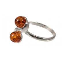 -Amber-silver ring-21