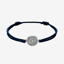 -SYLT fine paracord bracelet unique sterling silver-24