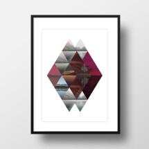 """-A4 Artprint """"Horizons""""-21"""