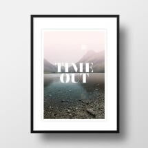 "-A4 Artprint ""Time Out""-21"