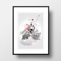 "-A4 Artprint ""Mademoiselle""-21"