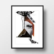 """-A4 Artprint """"Redhead""""-21"""