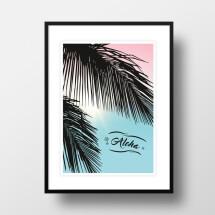 """-A4 Artprint """"Aloha""""-22"""