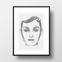 """-A4 Artprint """"Amy""""-21"""