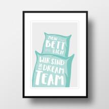 """-A4 Artprint """"Dream team""""-21"""