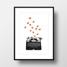 "-A4 Artprint ""Love Letter""-21"