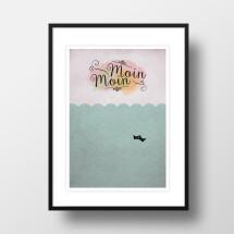 """-A4 Artprint """"Moin Moin""""-21"""