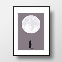 "-A4 Artprint ""Moonballoon""-21"