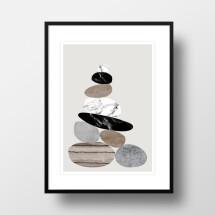 """-A4 Artprint """"Cairn""""-21"""