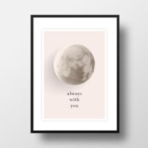 "-A4 Artprint ""Moon always with you""-21"