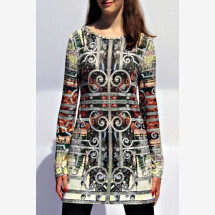 -colorful longshirt with own fabric print AVADA-99-21