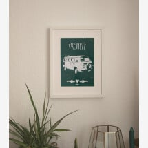 -Freedom Poster A4 Dark Green-21