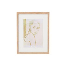 -STELLA print in a wooden frame from HK Living-21