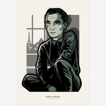 -Charles Aznavour Print A4-22