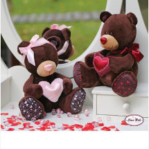 -lovely bear with red heart-21