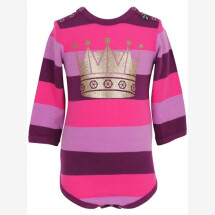 -Danefae purple-pink striped body with crown-21
