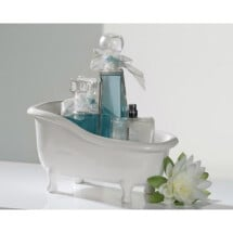 -Decoration bowl bathtub white-22