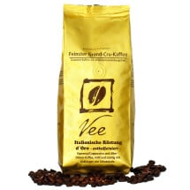 "-VEES COFFEE ""ESPRESSO ITALIAN ROAST DORO"" DECAFFEINATED-21"