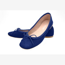 -Ballerinas dark blue suede Batelli Ballerina blue-22