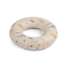 -Liewood Baloo swim ring Dino mix-21