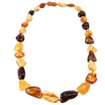 -Baltic amber necklace-20
