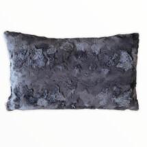 -Pad Concept Stone gray faux fur cushion-21