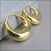-925 gold hoops made of real silver-21