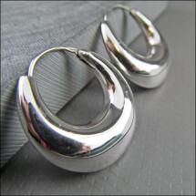 -925 silver hoop earrings-21
