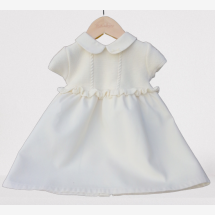 -Naturapura baby baptism dress made of 100% organic cotton-2