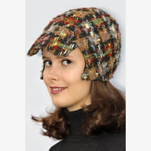 -colorful checkered cap BELA_225-21