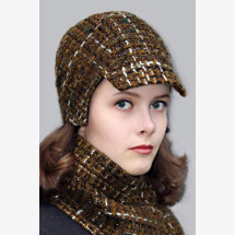 -colorful woven cap BELA_233-21